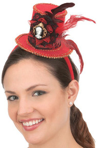 /red-mini-top-hat-on-a-headband-w-skeleton-cameo/
