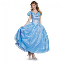 Adult Cinderella Prestige Edition Licensed Disney Movie Dress (87049)