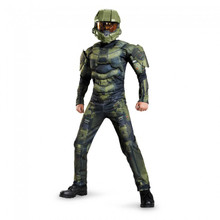 HALO Master Chief Licensed Kids Muscle Suit