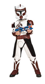 Clone Trooper Commander Fox Kids Star Wars Costume