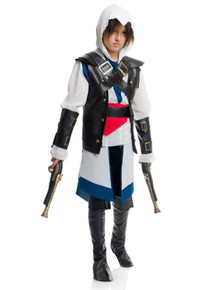 Assassin Cutthroat Pirate Boy's Costume