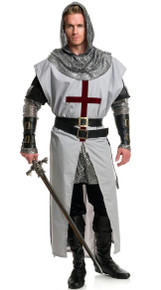 Chivalrous Knight Crussader Complete Costume