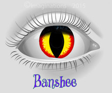 Banshee Weighted Collectible Novelty Lenses