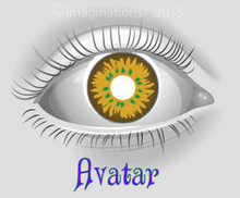 Avatar Weighted Collectible Novelty Lenses