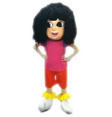 Deluxe Explorer Girl Hard Head Mascot