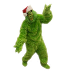 Rental Only: Deluxe Fur Grinch 5 Pc Set