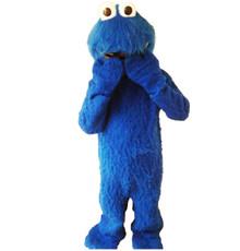 Blue Monster Furry Mascot