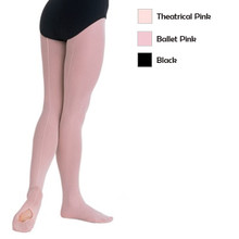 Adult TotalSTRETCH® Mesh Back Seam Convertible Tights (A45)