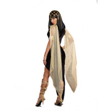 Ladies Cleopatra Gown, Belt & Arm Bands