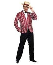 Good Time Charlie Barber Shop Quartet Jacket, Hat & Bow Tie