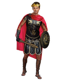 Julius Caesar Men's Tunic, Cape & Headpiece