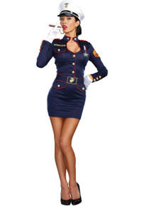 Take Charge Marge Navy Dress