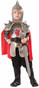 Silver Knight Kids Costume