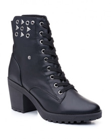 "Ladies Studded Dance Boot w/ 3"" Heel Rebel"