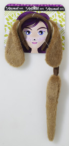 /brown-dog-headband-tail-set/
