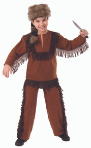 Davey Crockett Kids Costume