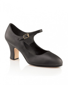 "Manhattan Character Black 2.5"" Heel"