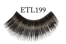 Eyelashes Black Thick & Long (no adhesive)
