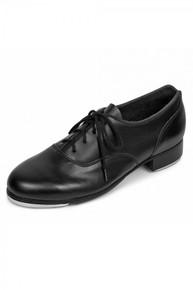 Ladies Black Respect Full Sole Tap Shoe