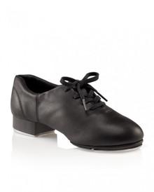 Ladies Black Flex Mastr Split Sole Tap Shoe