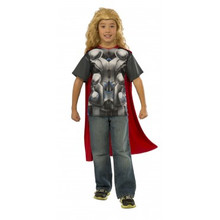 Avengers Kids Thor Shirt & Cape Licensed Age of Ultron (610434)