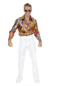 70's Multicolor Disco Shirt