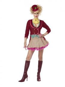 Alice The Mad Hatter Ladies Costume