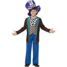 Boy's Deluxe Hatter Top, Pants & Hat