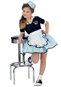 Car Hop Girl Kid's 50's Costume (38720)