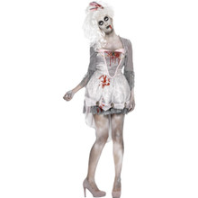 Zombie Georgian Dress & Headpiece (61102)