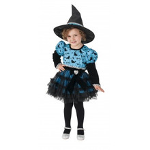 Twilight Witch Little Girl's Blue Tutu Dress