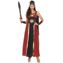 Regal Warrior Ladies Long Greek Roman Dress Cuffs & Headband