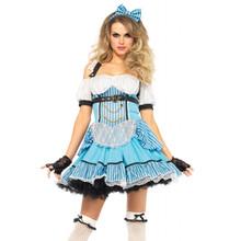 Rebel Alice Punk Dress w/ Bow & Headband