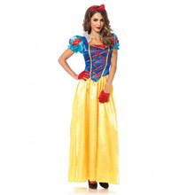 Classic Snow White Long Princess Dress