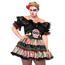 Full Figure Day of the Dead Doll