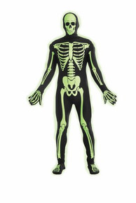 Disappearing Man Skeleton Glow In The Dark (72074FOR)