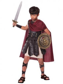 Spartan Warrior Child Costume