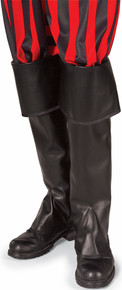 Pirate Tall Boot Tops Black or Brown