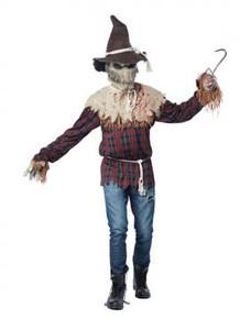 Scarecrow Sadistic Ani-Motion Costume with Mask