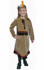 Indian Girl Native American Costume Kids