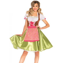 Darling Greta German Beergirl Dress & Apron (85508)