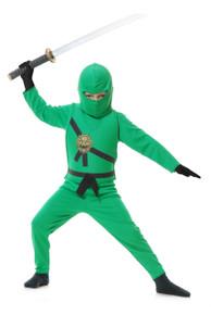 Green Jade Ninja Avengers Kids Costume Set