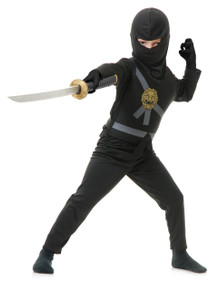 Ninja Avengers Kids Costume Set - Black