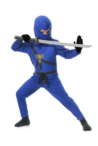 Ninja Avengers Series II Kids Costume Set - Blue