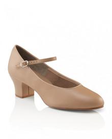 Ladies Suede Sole Jr. Footlight - Caramel