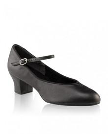 Ladies Suede Sole Jr. Footlight - Black