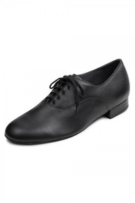 Men's Xavier Black Lace Up Oxford Ballroom Shoe