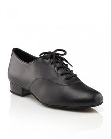 Men's Basic Black Ballroom Shoe