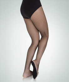Adult TotalSTRETCH Fishnet No Backseam Tights (A67)