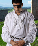 Buccaneer Ruffle Pirate Shirt (C1013)